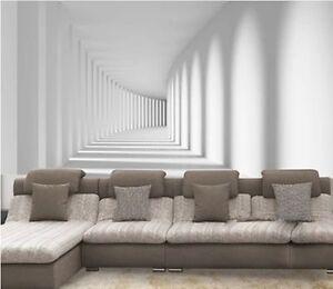 Image Is Loading Custom 3D Modern Wallpaper Luxury Living Room TV