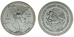 1-SILVER-TROY-OUNCE-1-ONZA-TROY-PLATA-MEXICO-1993-UNC-SC