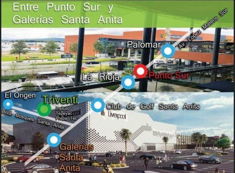 Locales comerciales en Santa Anita plaza Punto Triventi