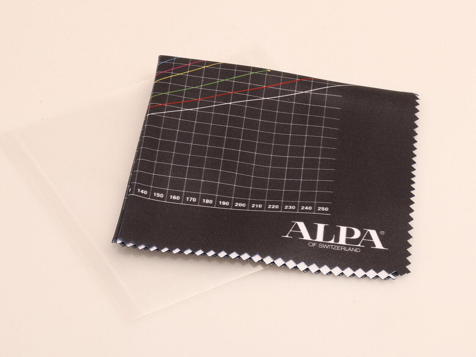 Alpa micro fibre cloth for lenses / Mikrofasertuch #550.050.040