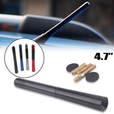 4.7/'/'Carbon Fiber Style Car Antenna Aerial Bee Sting Short Stubby Mast Universal