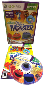 Kinect Sesame Street Once Upon a Monster W Manual Xbox 360 Game