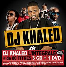 Limited DJ KHALED Collector BOX 3 CDS + 1 DVD FREE SHIPPING