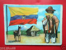 figurines cromos cards figurine sidam gli stati del mondo 71 ecuador flags flag