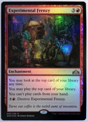 English-Experimental Frenzy-Guilds of Ravnica MTG-1x-NM-Mint