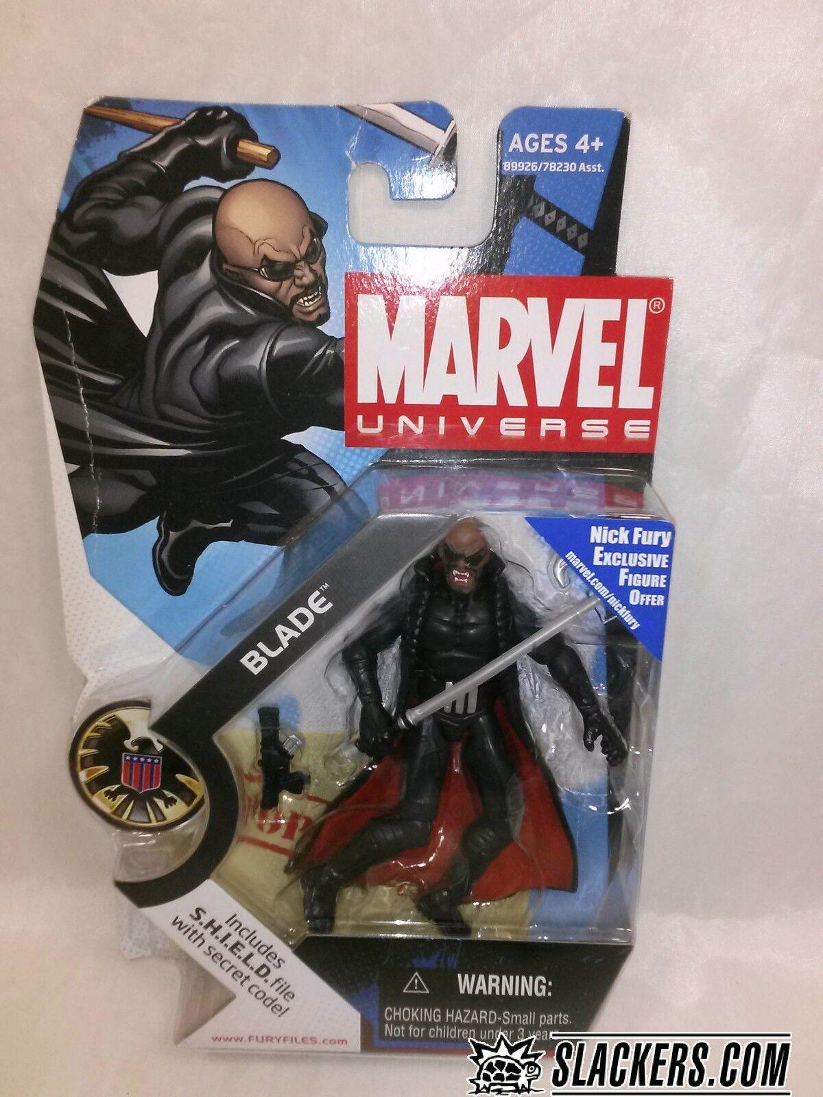 Marvel universo Hoja  029 Figura de Acción Sellado Nuevo    2008 Hasbro S.H.I.E.L.D.