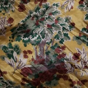 Vintage-Vera-Neumann-Studio-Silk-Scarf-Beautiful-Scarf-of-Trees