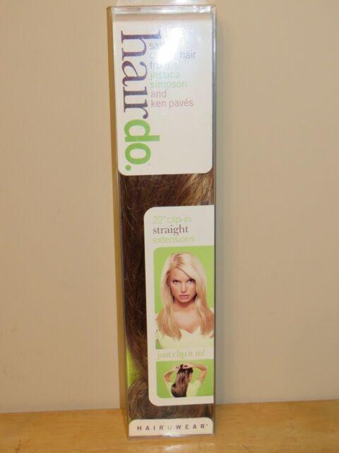Hairdo Jessica Simpson 22 Straight Hair Extension Clip R29s Glazed