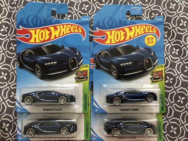 Last one! Hot Wheels 16 Bugatti Chiron Metallic Black