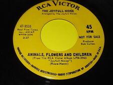 The Joyfull Noise: Animals, FLowers And Children / Same 45