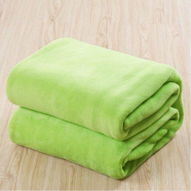 Soft Mink Faux Fur Throw Fleece Warm Large Sofa Bed Blanket Qween King Sizes