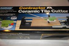 Plasplugs Contractor Manual Hand Ceramic Tile Cutter - Barely Used - In box