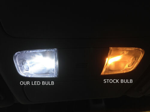 LED Light Kit for 2004-2010 Toyota Sienna Interior Reverse Package 15pc
