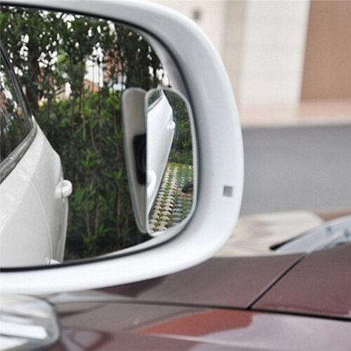 2x voiture auto 360 ° grand angle convexe vue latérale arrière rétroviseur aveug