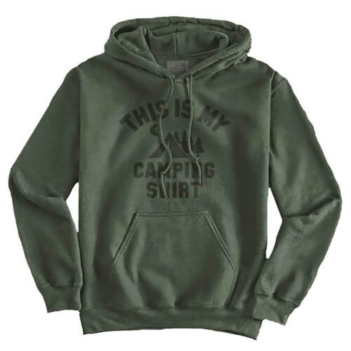 This is My Camping Shirt Funny Outdoor Sporting Good Cool Hooded Sweatshirt