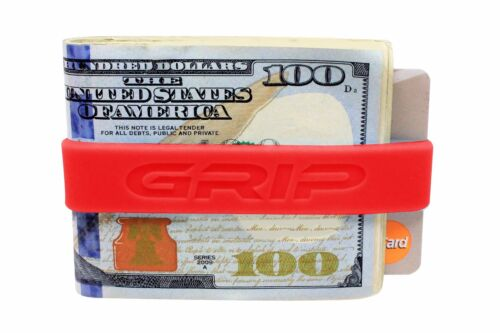 3 - GRIP Money Band SET OF THREE RED