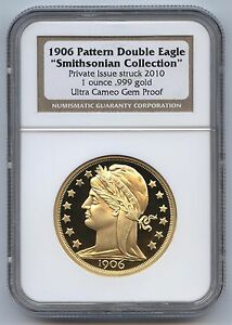 1906-Pattern-Double-Eagle-Smithsonian-2010-NGC-Ultra-Cameo-Gem-Proof-Wood-Box