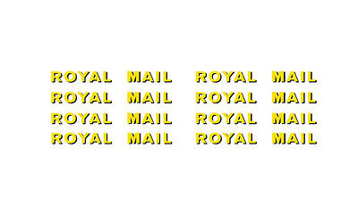 Sr Royal Mail Post Offices Letters & Numbers (pre-1964) Modelmaster Mm4438 L1