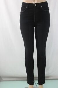 NEW-Citizens-of-Humanity-Olivia-High-Rise-Slim-Ankle-Black-Jeans-29-black-USA