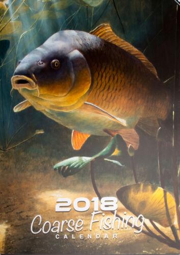 KALENDER 2018 Angeln Fisch Angelkalender Karpfen Hecht Friedfisch Raubfisch
