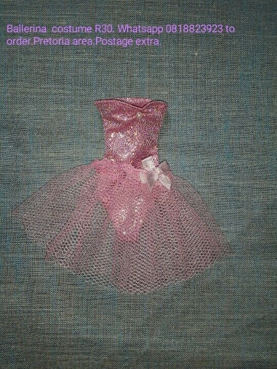 Barbie Dolls Clothes and Ken dolls clothes from R25 - R40