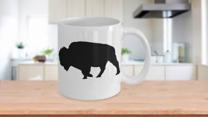 Bison-Mug-Buffalo-White-Coffee-Cup-Gift-for-Hunting-Farmer-Rancher-Yellowstone
