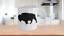 Bison-Mug-Buffalo-White-Coffee-Cup-Gift-for-Hunting-Farmer-Rancher-Yellowstone miniature 1