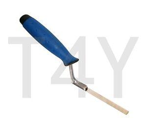 Marshalltown Finger Trowel Pointing Tool Brick Jointer Tuck Bricklayers Metal