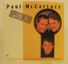 "Paul McCartney ""Spies Like Us"" 45rpm w/ PS NM Unused Store Stock"