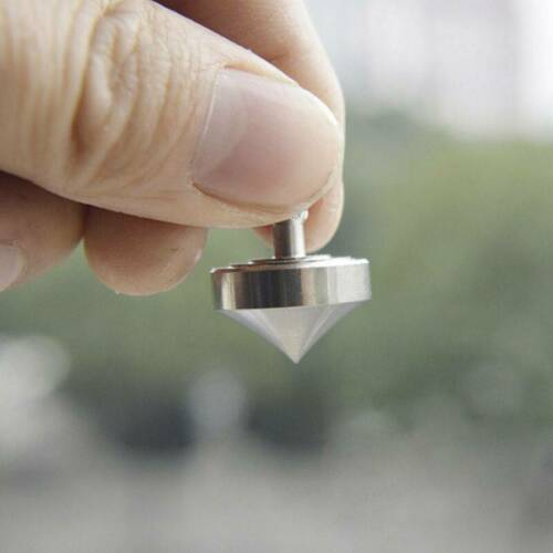 Super Precision Spinning Top Professional Stainless Steel Metal Spinning Tops