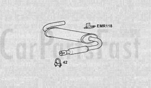 Exhaust-Rear-Box-MG-Midget-1-5-Petrol-Convertible-01-1975-to-12-1980