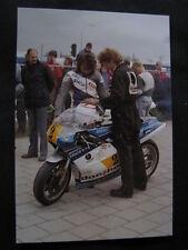 Photo Docshop Suzuki RGB500 1987 #2 Rob Punt (NED) Kamp. Races Assen