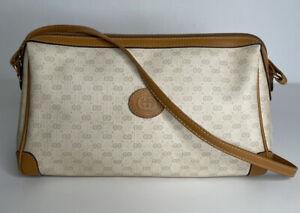 GUCCI-Vtg-Micro-GG-Shoulder-Bag