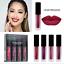 4-piezas-Set-Mujeres-Mini-Brillo-Labial-Mate-Maquillaje-Cosmetico-Impermeable-Lapiz-labial-liquido miniatura 3