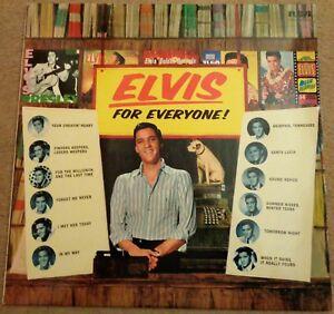 Elvis-Presley-Elvis-For-Everyone-1981-issue-vinyl-LP