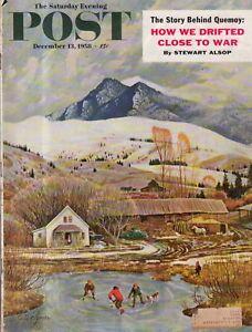 1958-Saturday-Evening-Post-December-13-Quemoy-Predicta-Salt-Lake-RR-S-Varnell