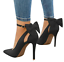 Women-Ladies-High-Heels-Pointed-Toe-Pumps-Ankle-Buckle-Strap-Dress-Shoes-Sandals thumbnail 4
