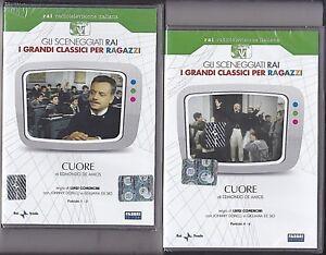 2-Dvd-Sceneggiati-Rai-CUORE-di-De-Amicis-L-Comencini-con-J-Dorelli-completa-1984