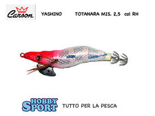 TOTANARA SQUID YASHINO  CARSON  IN SETA MIS 2,5 col. TESTAROSSA