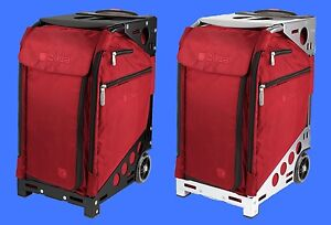 Zuca Ruby Red PRO TRAVEL - ARTIST case (Pouches Set & Travel Cover) + FREE GIFT
