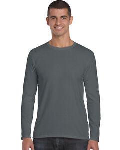 46209769bb5 Gildan Mens Soft Style Long Sleeve T-Shirt-Gents Shirts (64400)