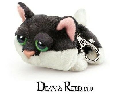RUSS BERRIE ASSORTED DOG CAT & ANIMAL KEY RING/BAG CLIP/CHARM SOFT TOY PLUSH
