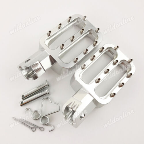 CNC Footpegs Foot Rest For Chinese 125 140 150 160cc CRF50 KLX TTR Pit Dirt Bike