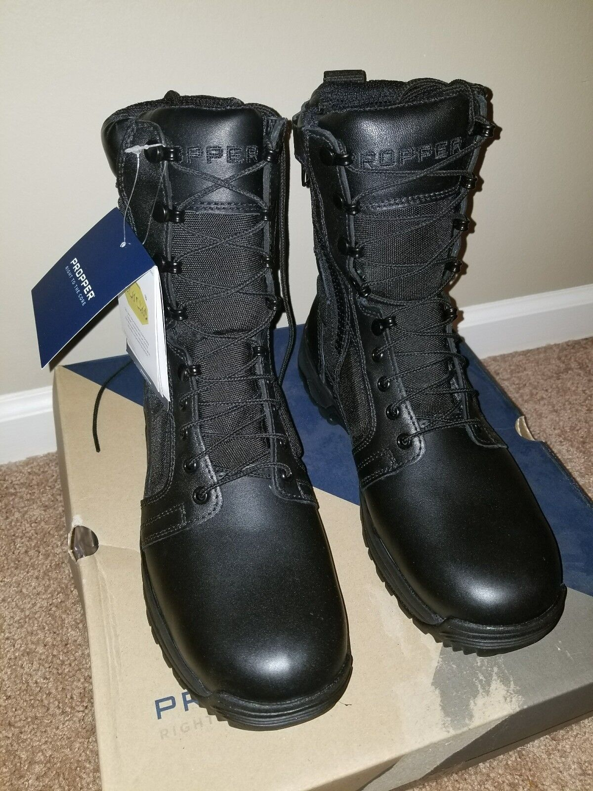 Propper F4511 8  Series 200 Waterproof Side Zip Military Tactical Boots