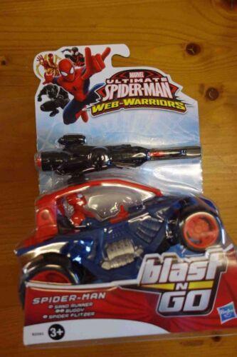 Marvel Ultimate Spider Man Web Warriors Spider SAND RUNNER BUGGY Blast n Go