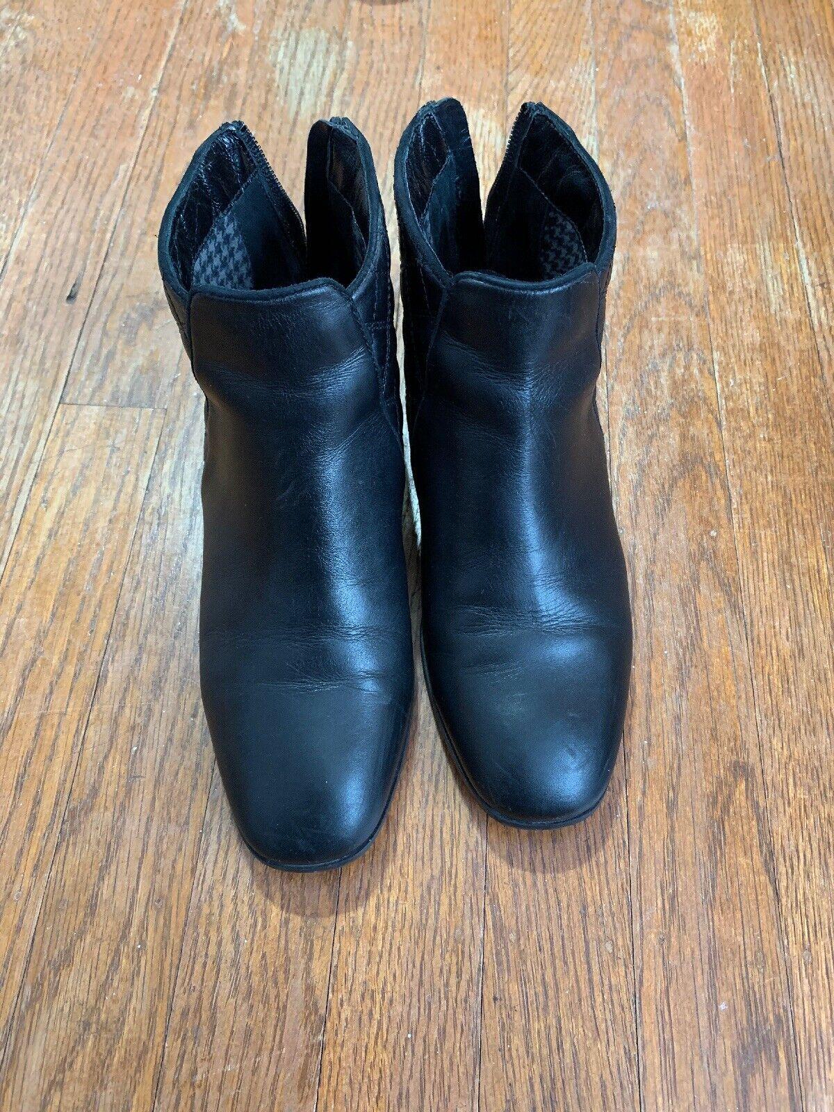 Aquatalia Leather bootie Excellent Condition  Size 5.5