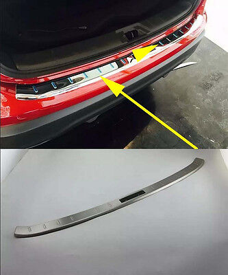 FOR NISSAN QASHQAI 2014-2019 Outer REAR BUMPER PROTECTOR GUARD COVER SILL PLATE