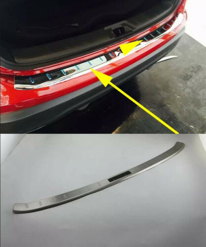 Rear Bumper Protector Sill Plate for 2014-2018 Nissan Qashqai Rogue Sport Steel