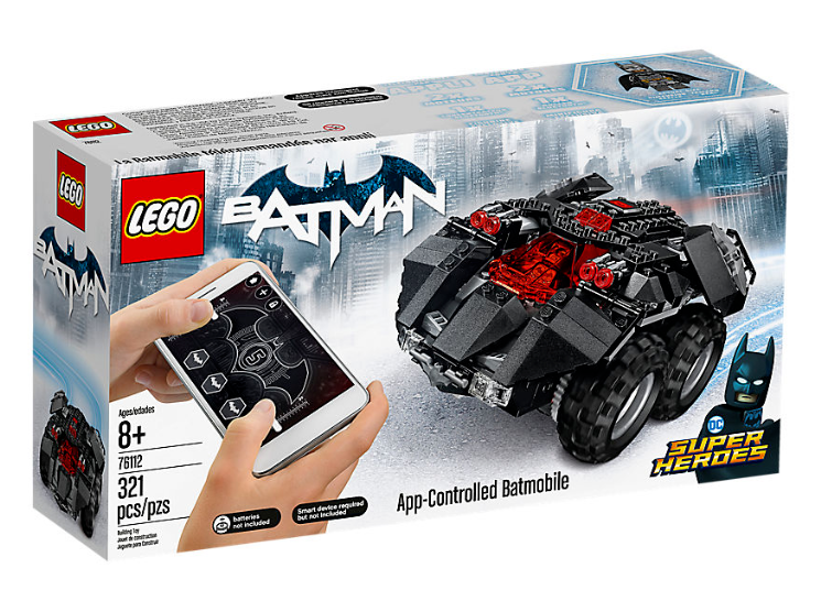 Lego Super Heroes 76112 DC Comics App-Controlled Batmobile  NEW & Unopened