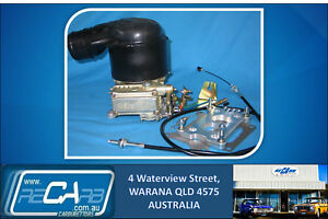 3F-Toyota-Landcruiser-4X4-New-Holley-330-350-Carburettor-Kit-with-Factory-Hat
